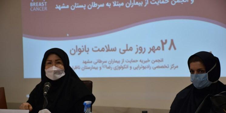 افتتاح سامانه حمایت از بیماران مبتلا به سرطان پستان در مشهد