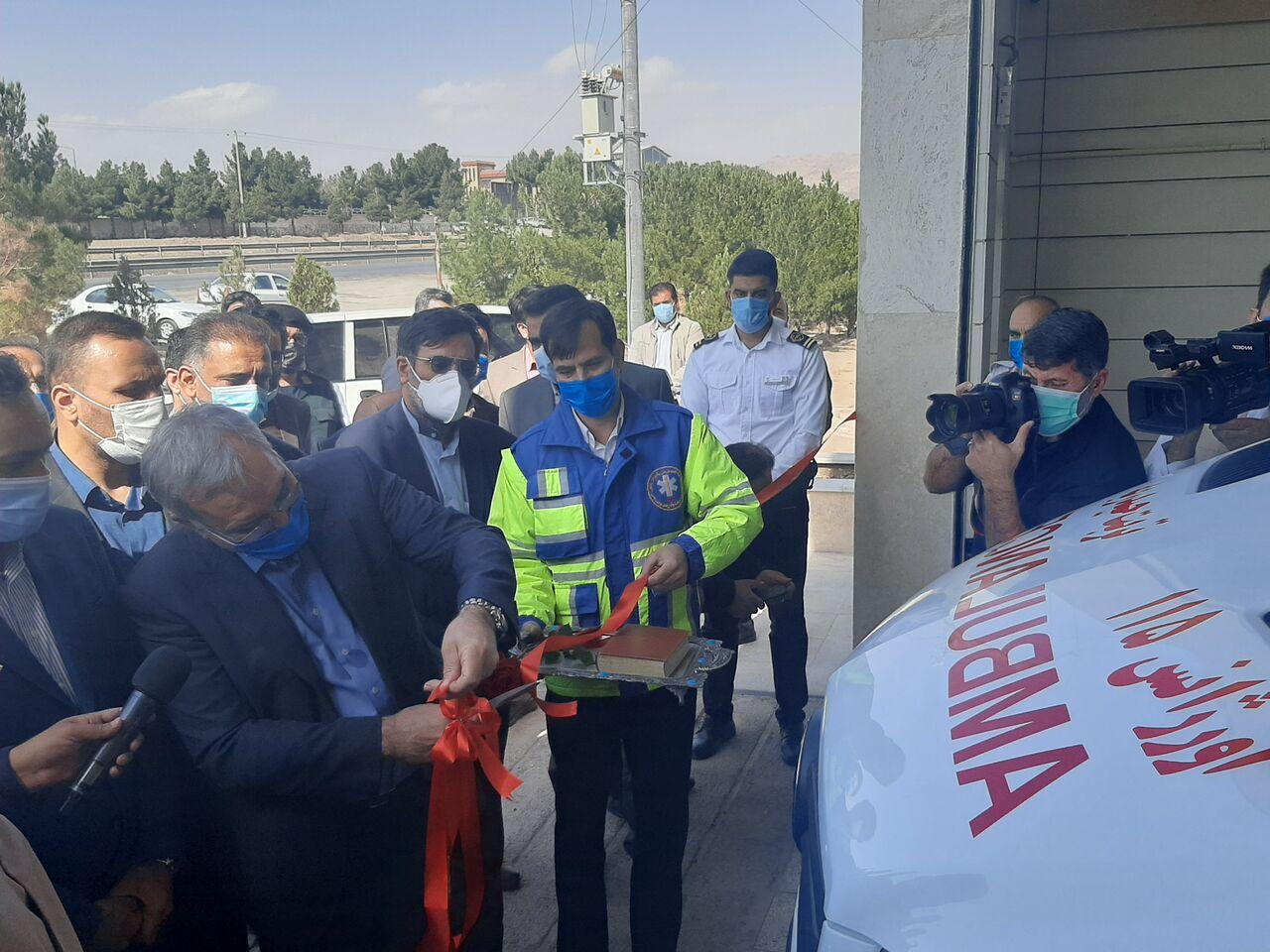 وزیر بهداشت، اورژانس ثامنالائمه(ع) تربت حیدریه را افتتاح کرد