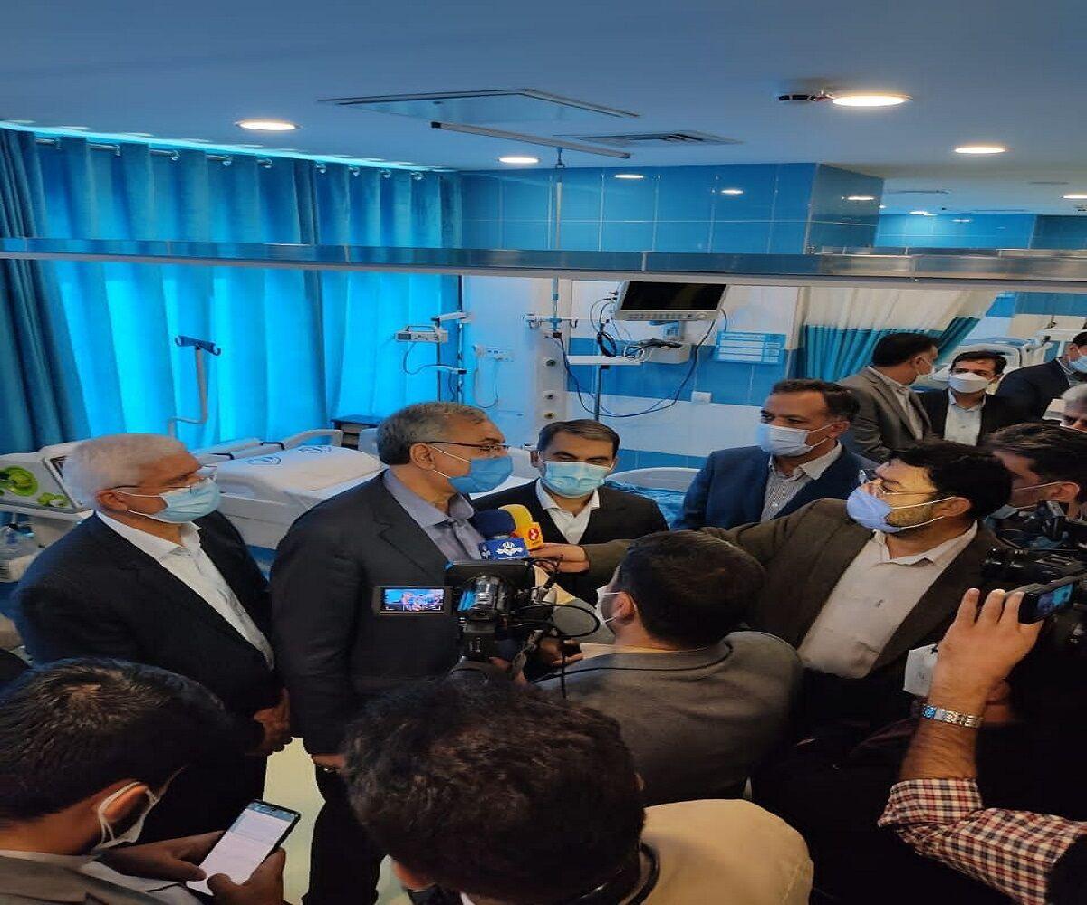 وزیر بهداشت:۷۶میلیون ایرانی یک دُز واکسن کرونا را دریافت کردهاند
